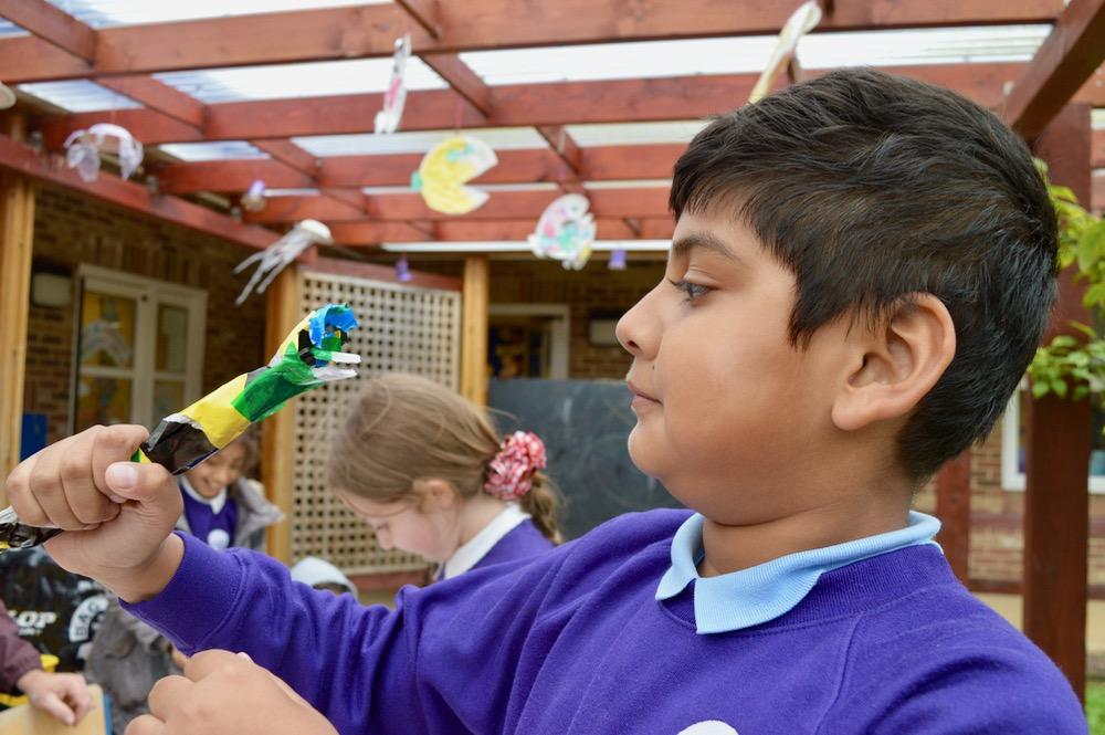 Examining what's needed next... Ridgefield Primary School