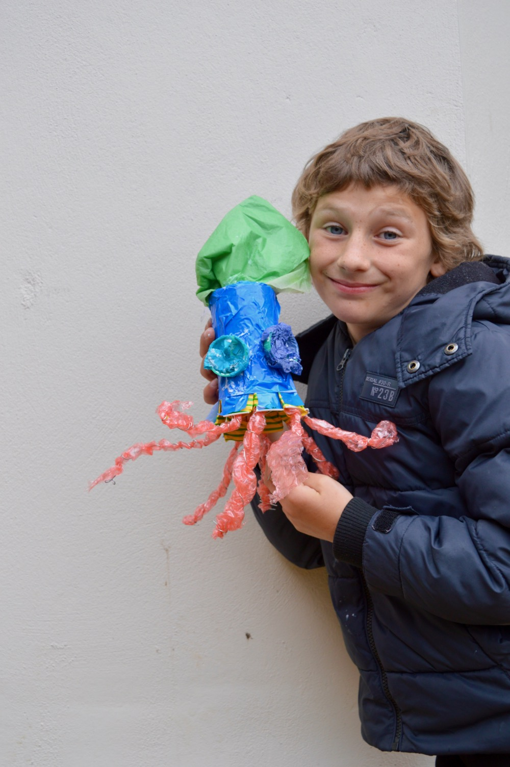A very important Octopus! Ridgefield Primary