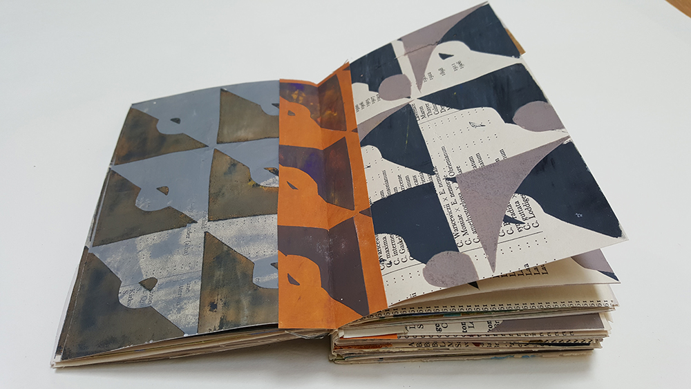 And some will have two patterned pages...