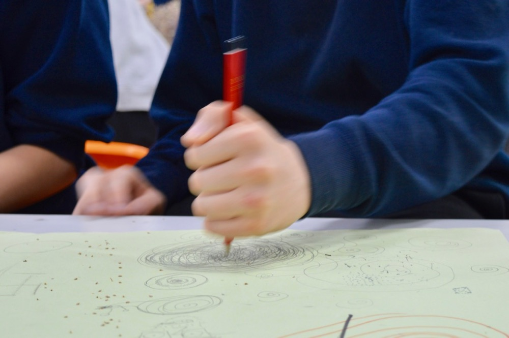 Drawing for Mindfulness at Chesterton Community College