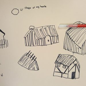 "This resource shares a 10 minute drawing exercise which was used to help collect information and focus minds before a sculpture session with Year 6 children who were studying Anglo Saxon architecture [themify_button style=""xlarge block"" link=""https://www.accessart.org.uk/show-me-what-you-see-drawing-inspired-by-anglo-saxon-architecture/"" color=""#78608e"" text=""#ffffff""]Read More[/themify_button]"