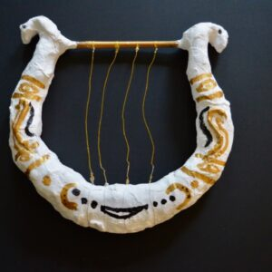 Making a Lyre from modroc