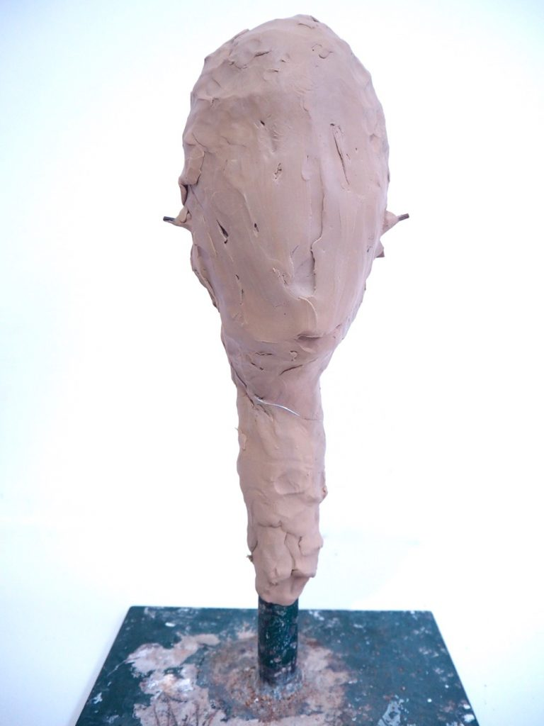 Covering Armature with Clay