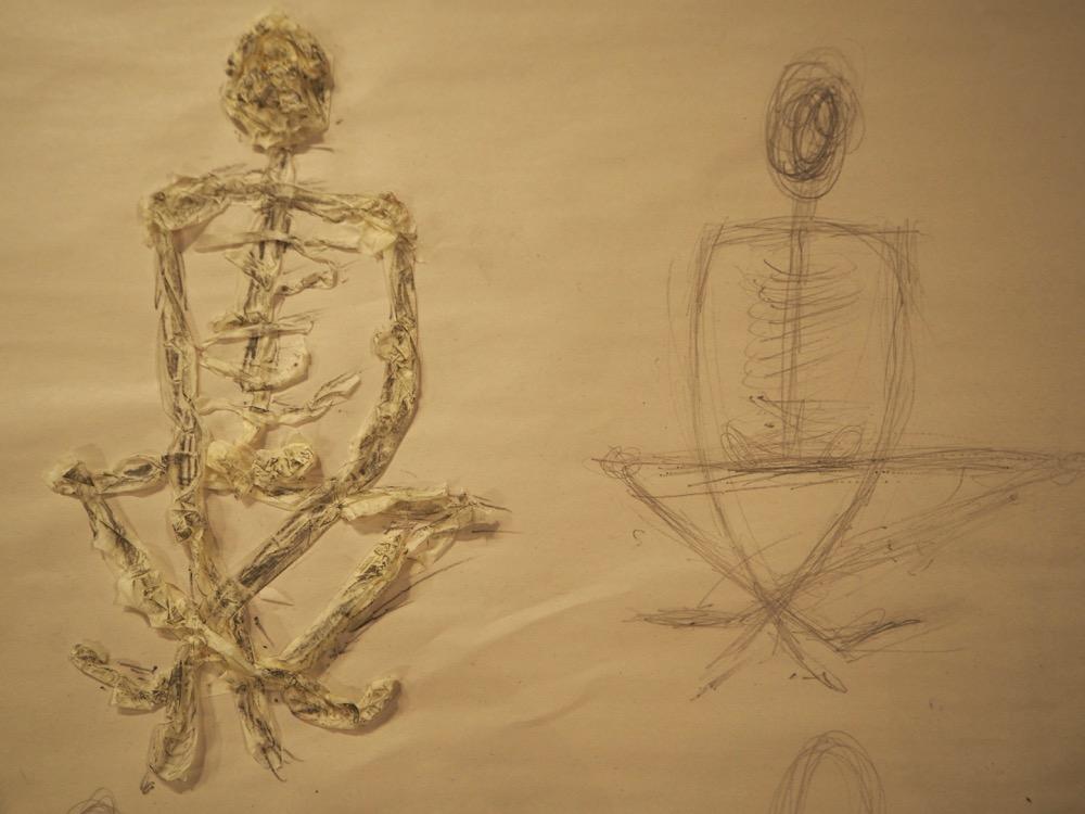 Cross-Legged Figures