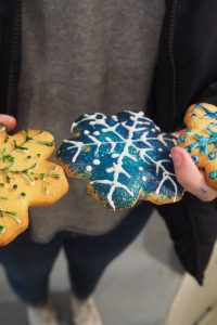 Decorated Snowflakes