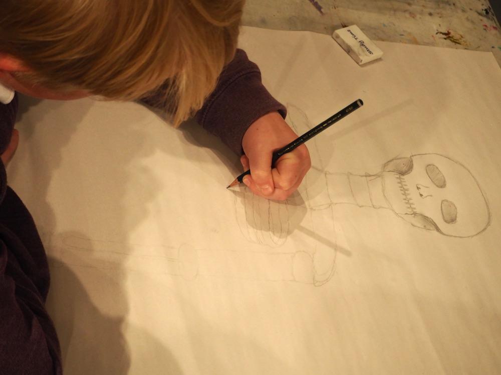 Drawing Ribs