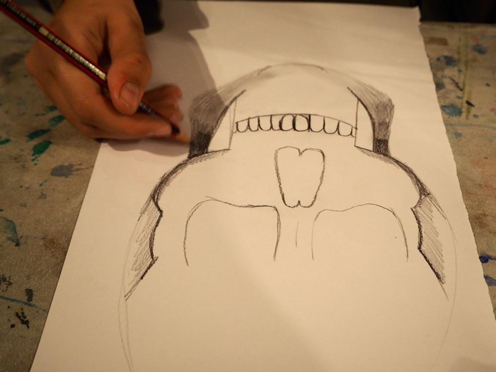 Focussing on the Skull