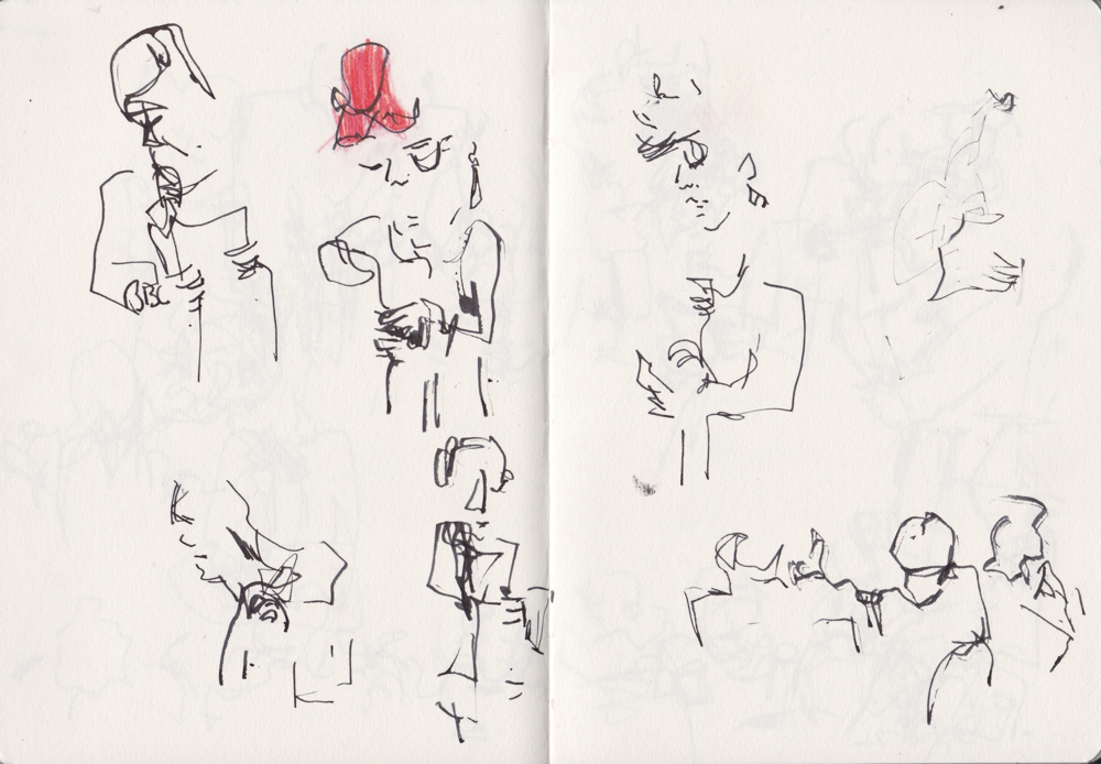 Sketchbook Pages by Andrea Butler