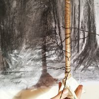 Winter Trees: Sculpture and Drawing