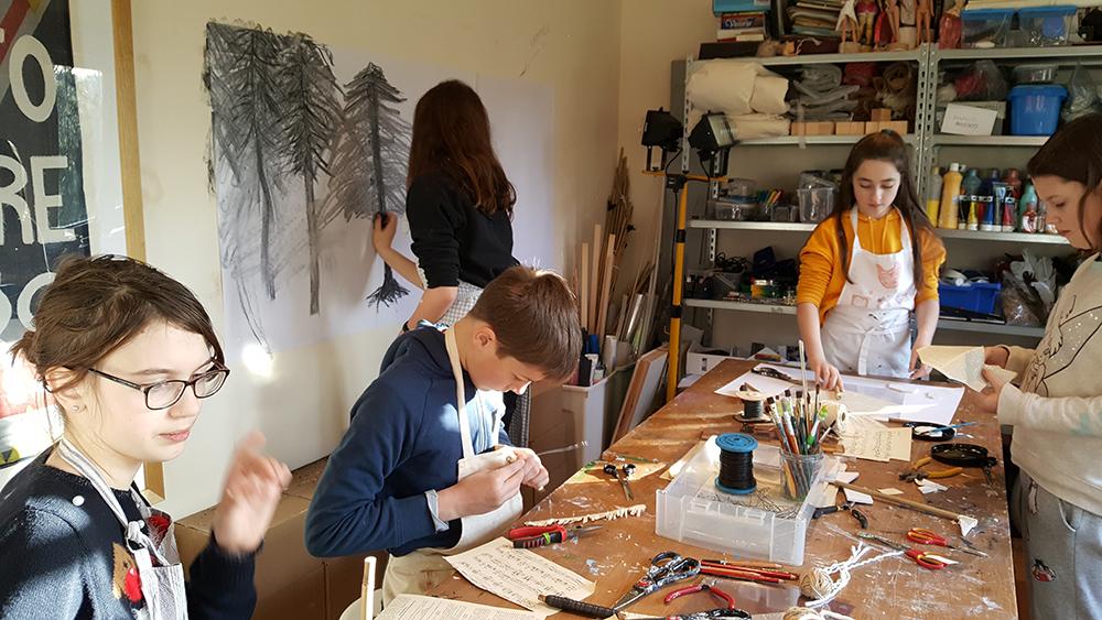 Studio: Sculpture and Drawing Challenge
