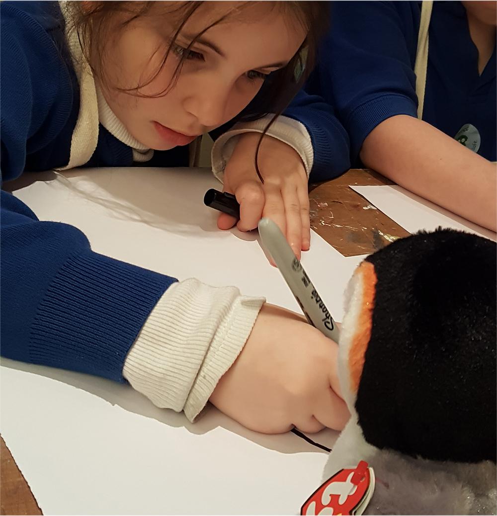 Making a backwards forwards line drawing