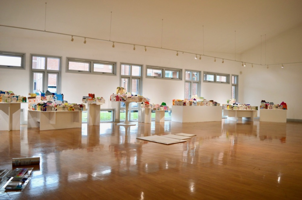 The AccessArt Village at Brentwood Road Gallery adjacent to the Frances Bardsley Academy - SC