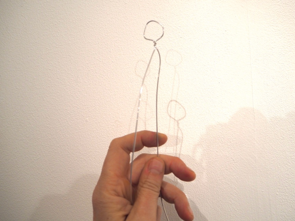 Twisting Wire to Form and Head and Neck