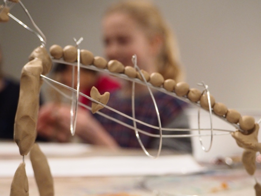 Drawing in Three Dimensions with Clay and Wire