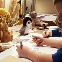 Exploring Mark Making inspired by Where the Wild Things Are