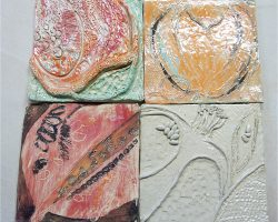 Ceramicist Rachel Dormor shares a workshop idea suitable for primary or secondary aged children. Working in clay, pupils take their inspiration from drawings of fruit to make decorative clay tiles.