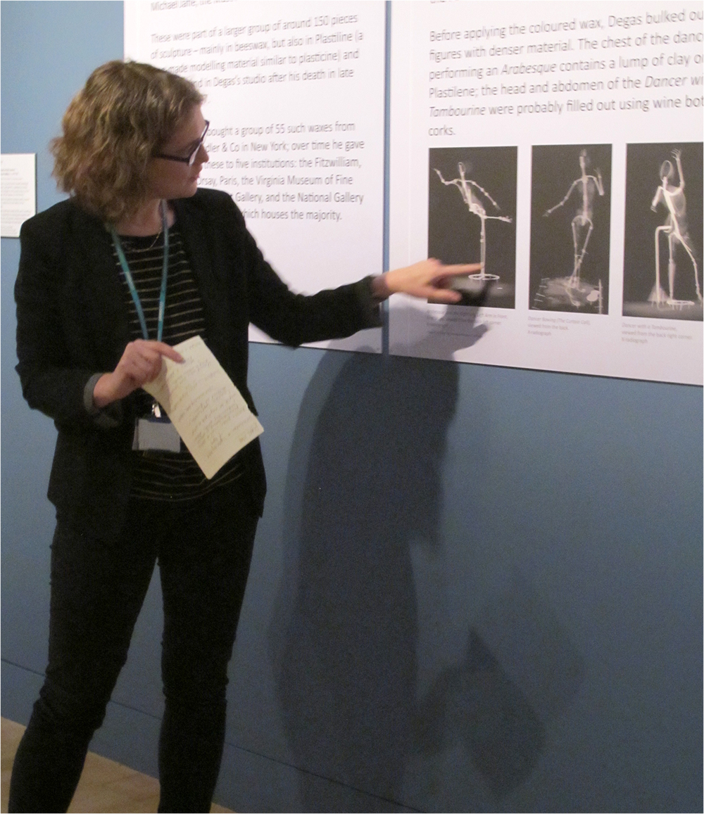Kate Noble discusses use of armature in Degas' sculptures