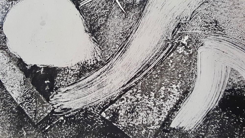 A mono-print by a teacher - Inspired by Degas - Sc _ Fitz