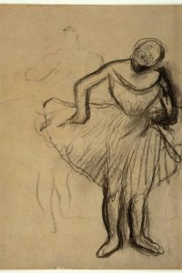 Inspired by Edgar Degas: Printmaking, Drawing & Sculpture at the Fitzwilliam Museum Cambridge with AccessArt