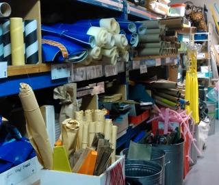 Use Scrapstores for Materials!