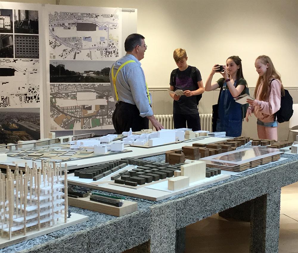 Interviewing Architecture undergraduate NUA