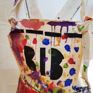 Painted dungarees