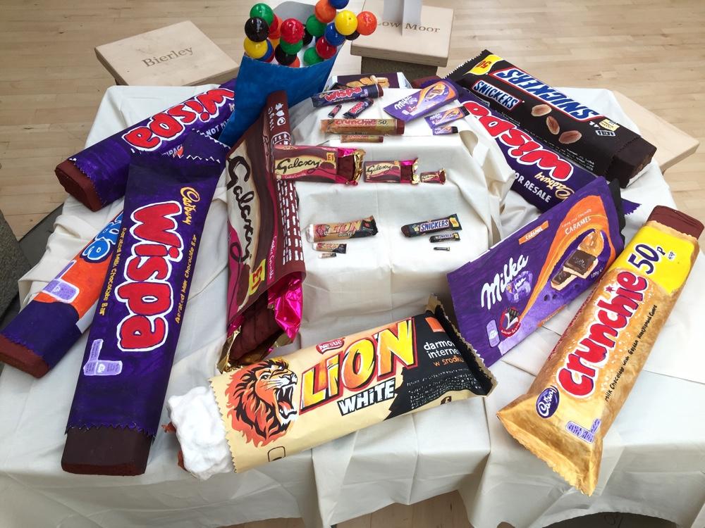 Pimp that Snack! Large Scale Food Sculptures by Anne-Louise Quinton