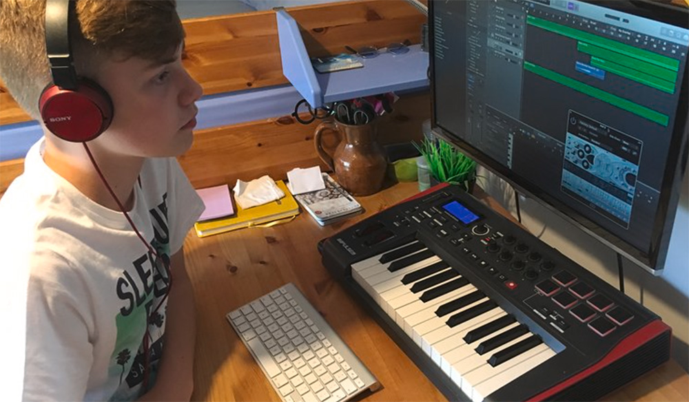 Sound created in Logic pro