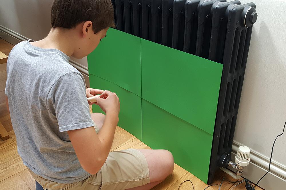 making green screen