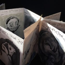 Be inspired by Morag Thomson Merriman as she creates a drawing a day in this concertina sketchbook