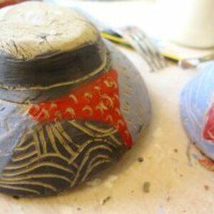 Creating Japanese style ceramics
