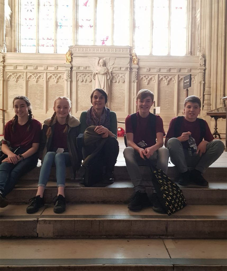 The #BeACreativeProducer team visit the Houses of Parliament