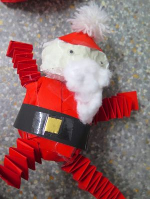 A fun end of term school project that would also be perfect to do at home – making model Santas with character!  Jan Miller share a process to make 3D model Santas using simple materials and processes.