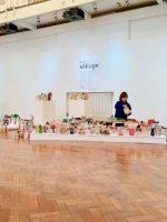 The AccessArt village pop-up exhibition at ARU