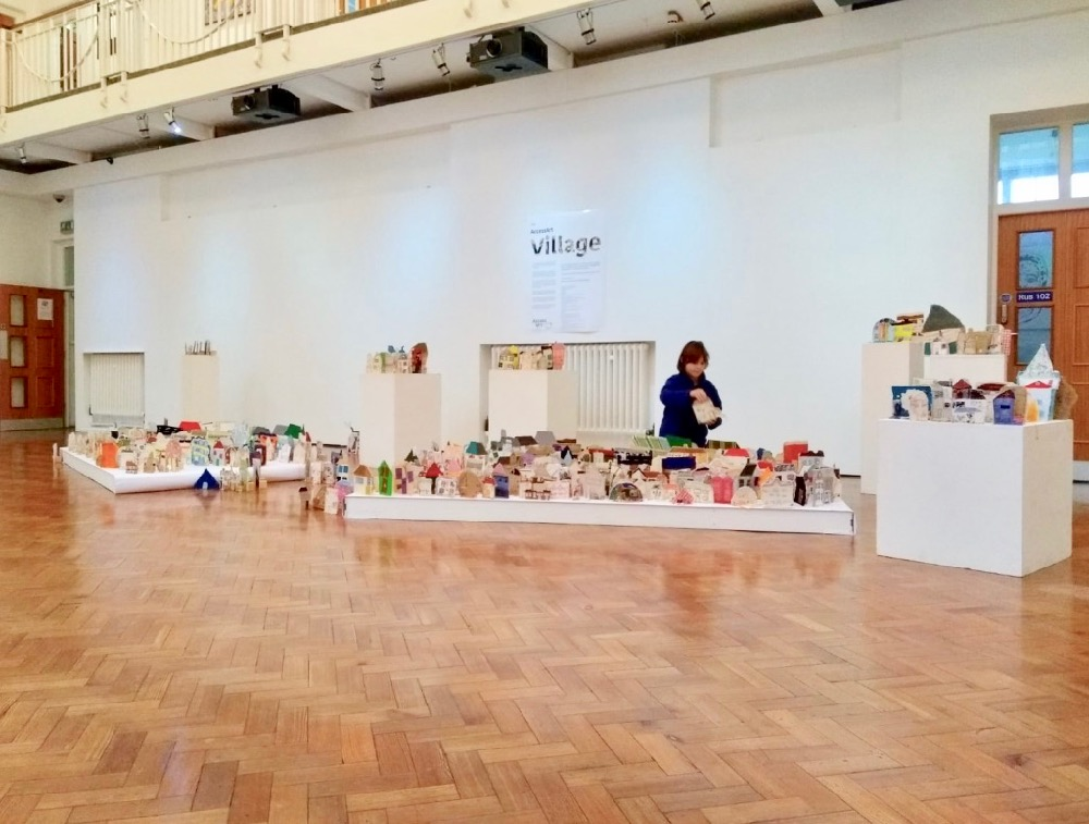 The very special homes, handmade by children in schools and hospitals, artists, young people and community groups, were exhibited and sold, in collaboration with Emmaus, Homeless Charity, Cambridge.