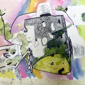 Taking inspiration from drawing cakes, AccessArt explores how to develop observation, composition and colour to make, beautiful seasonal drawings. These drawings were made over three, one hour long sessions.