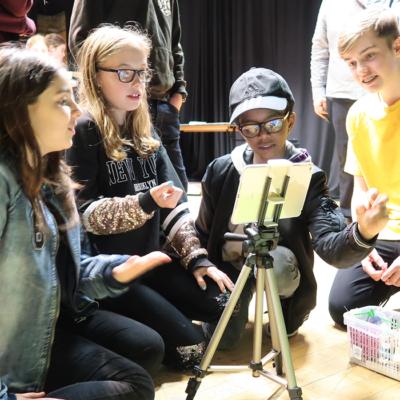 #BeACreativeProducer Green screen Animation Workshop