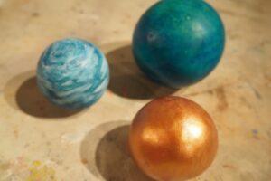 MPM_Painted_Clay_Spheres
