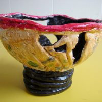 Decorative Clay Coil Pots by Sharon Gale