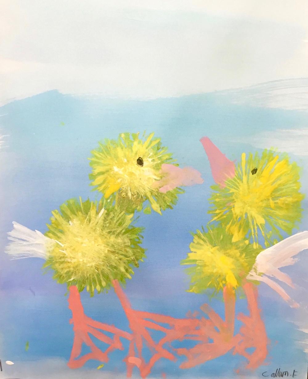 Burton Hathow Ducklings by Rachel Burch
