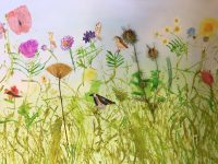 The Wildflower Meadow by Rachel Burch