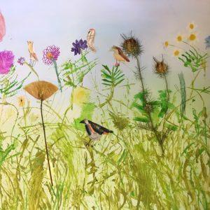 The Wildflower Meadow by Rachel Burch