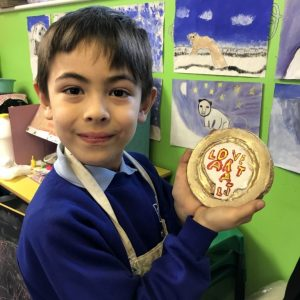 Clay Art Medals by Sharon Gale