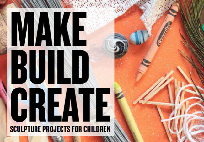 Join AccessArt as an annual or group member between 4th September and 5th October 2019 and receive a free copy of Make, Build, Create. UK only.
