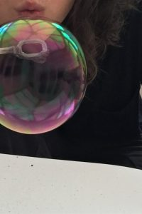 Bubble drawing