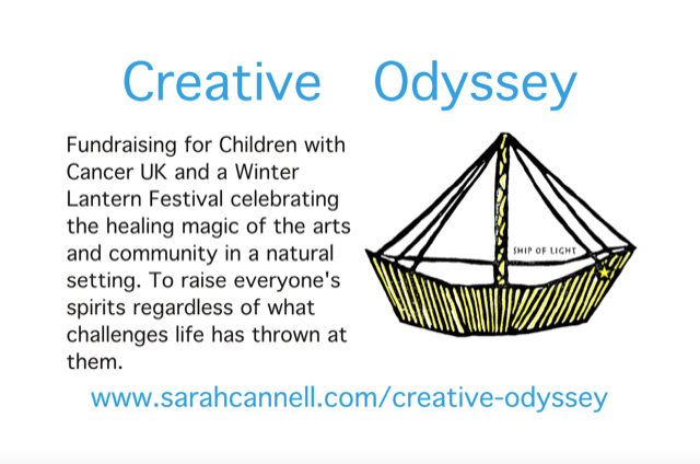 Creative Odyssey by Sarah Cannell