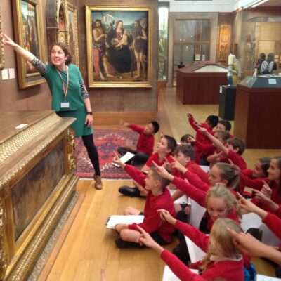 Holly - museum education at the Fitz