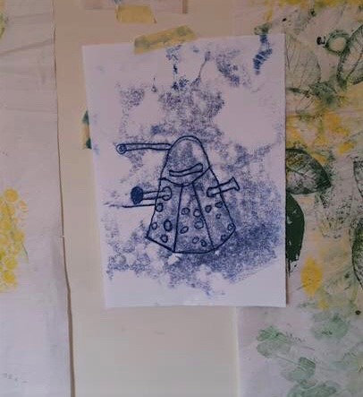 Using colour in monoprinting