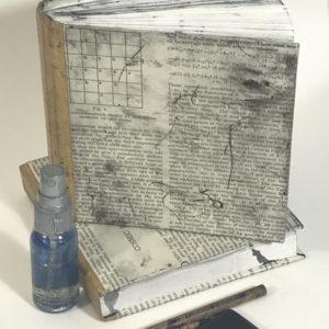 sketchbook for walking drawing