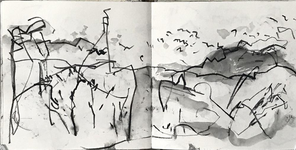 Walking Drawing